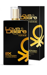 Love & Desire GOLD dubbel koncentrerad for Men 100ml EdP